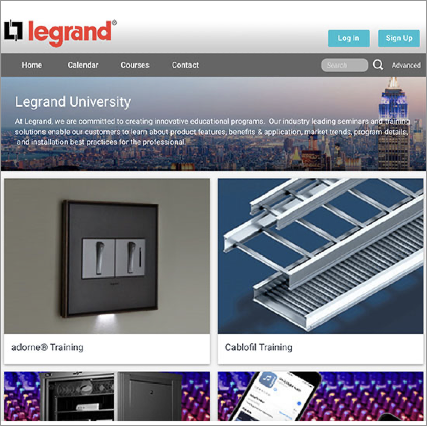 Legrand University image