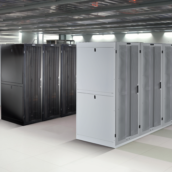 Image of Ortronics products in a data center