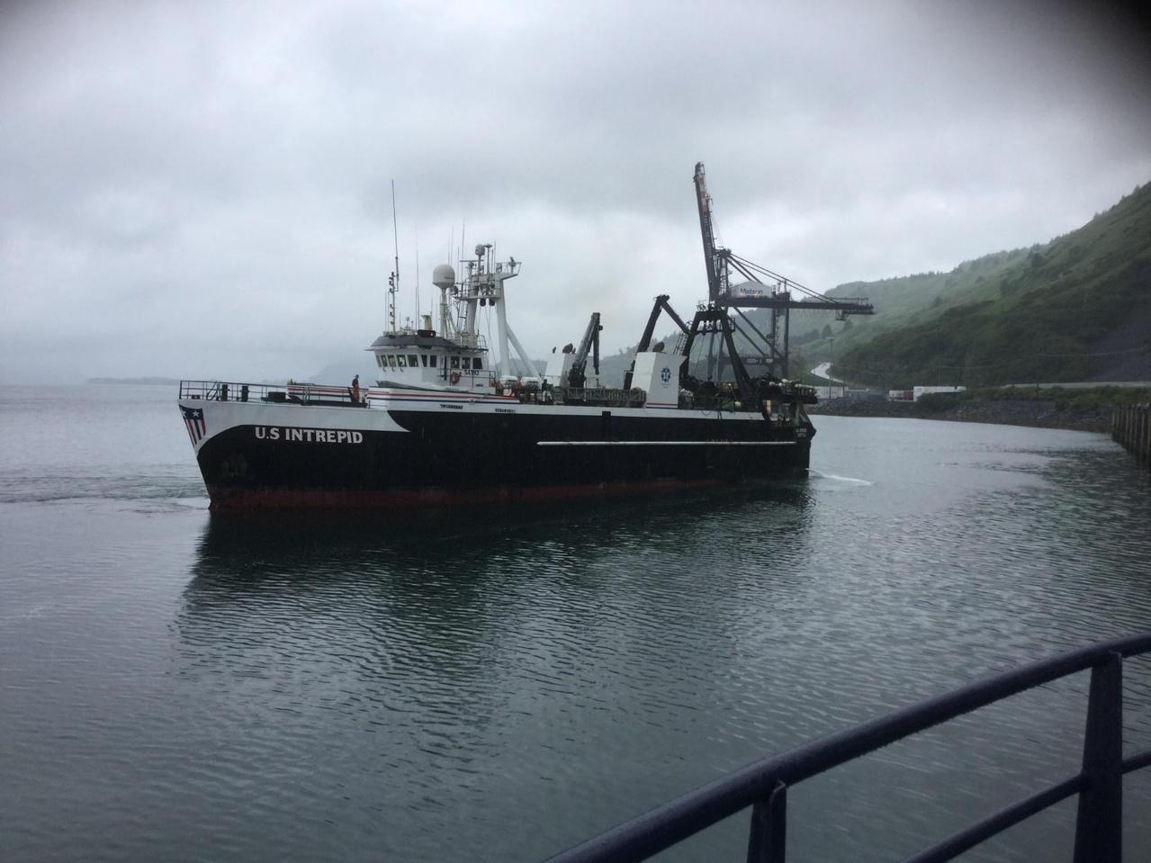 Photo of trawler US Intrepid.
