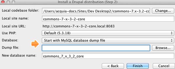 how to use acquia dev desktop