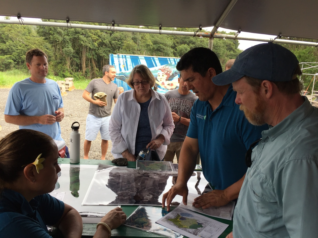 NOAA staff join partners at wetland and stream restoration site in Oahu, Hawaii