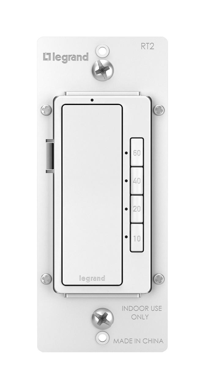 Radiant 4 On Digital Timer White Legrand