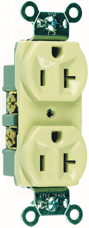 CR20I Commercial Spec Grade Receptacle