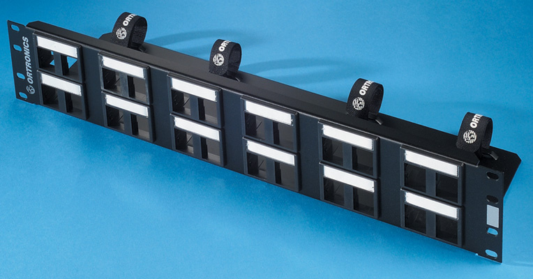 TracJack Patch Panel Kit for 24 modules, OR-401045290