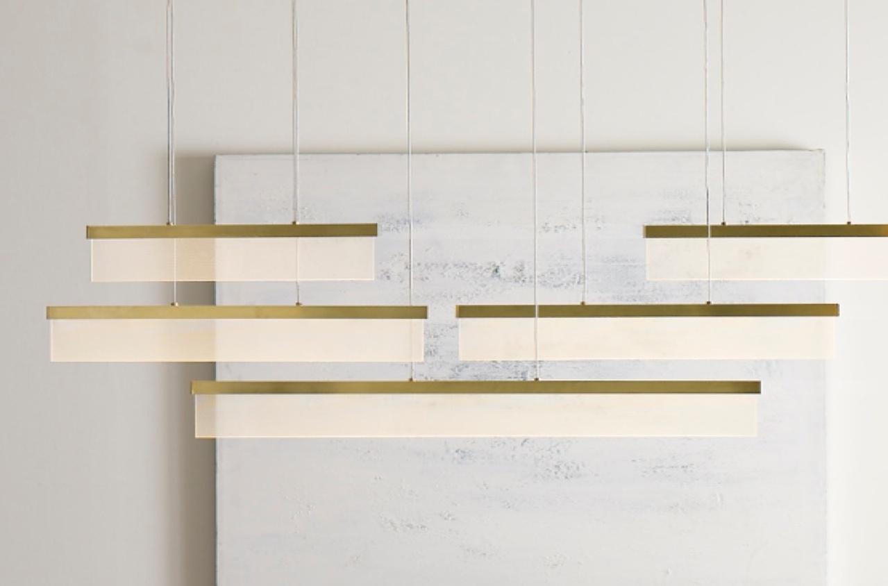 Thin, rectangular lighting fixtures