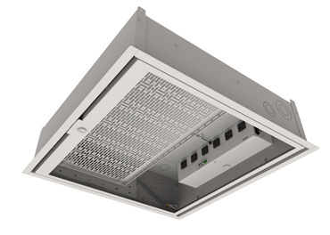 Evolution Ceiling Box with controlled receptacles, ECB2S-CR