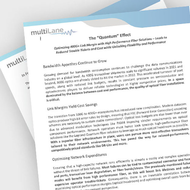 Screen grab of Infinium Quantum White Paper