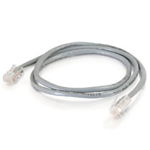 7Ft Cat.5E Non-Boot Patch Cable Gray
