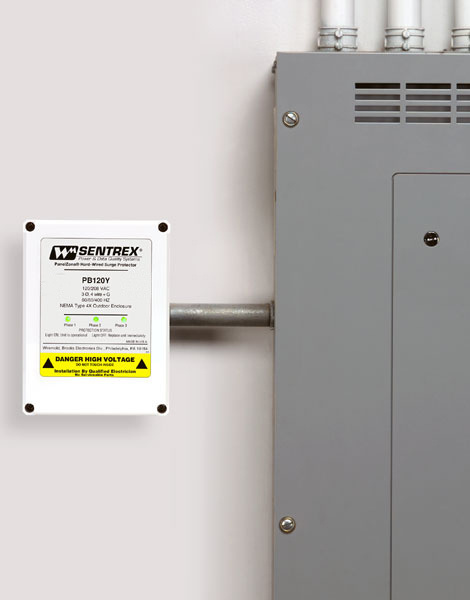 Light Duty Panel Surge Units