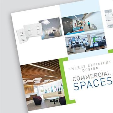 Energy Efficient Design for Commercial Spaces Brochure