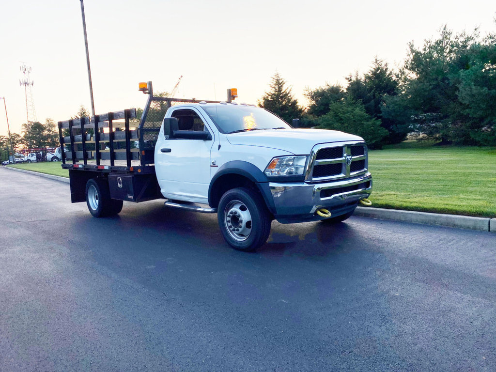 2016 Dodge Ram 5500 4x4 Flatbed Truck For Sale Custom Truck One Source