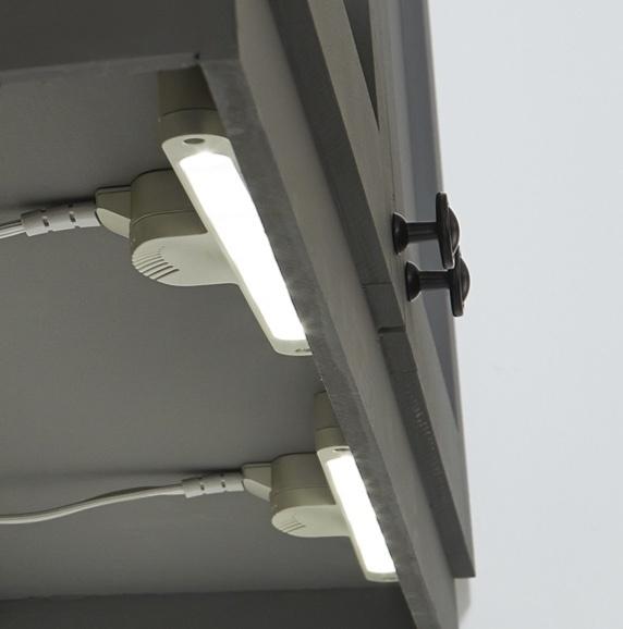 Overhead lights for under cabinet lighting