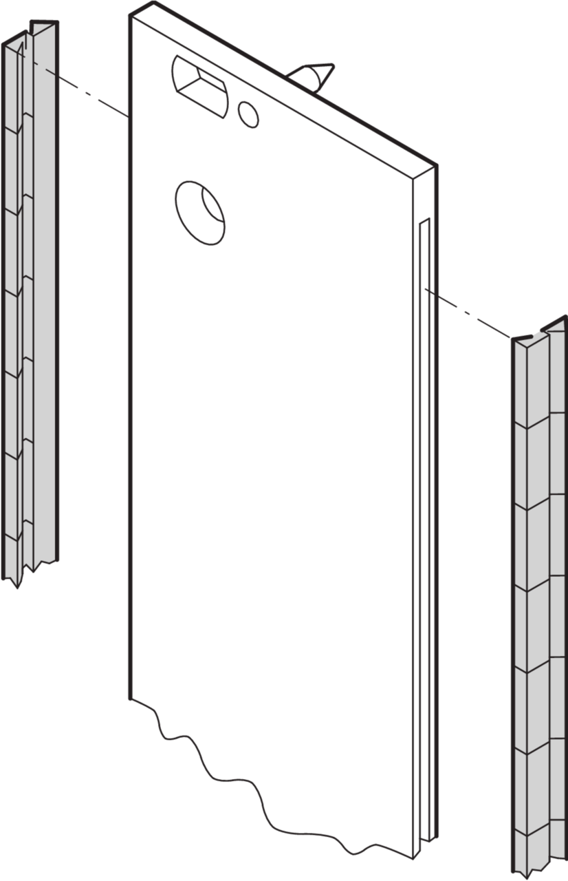 Image for EMC shielding (SST), for front panels, 19
