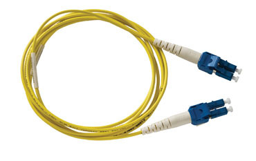 Spacesaver Patch Cord, Singlemode, 9/125, UPC/OFNR, A-B, 2 meters, Yellow, OR-P1DC6IPUZUZ002M