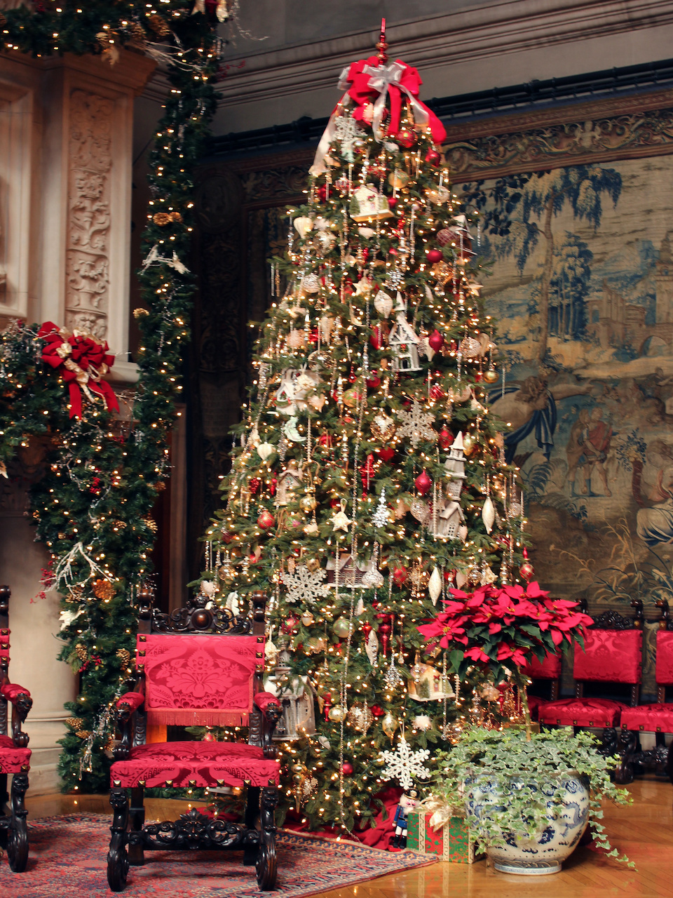 Christmas at Biltmore|styleblueprint.com