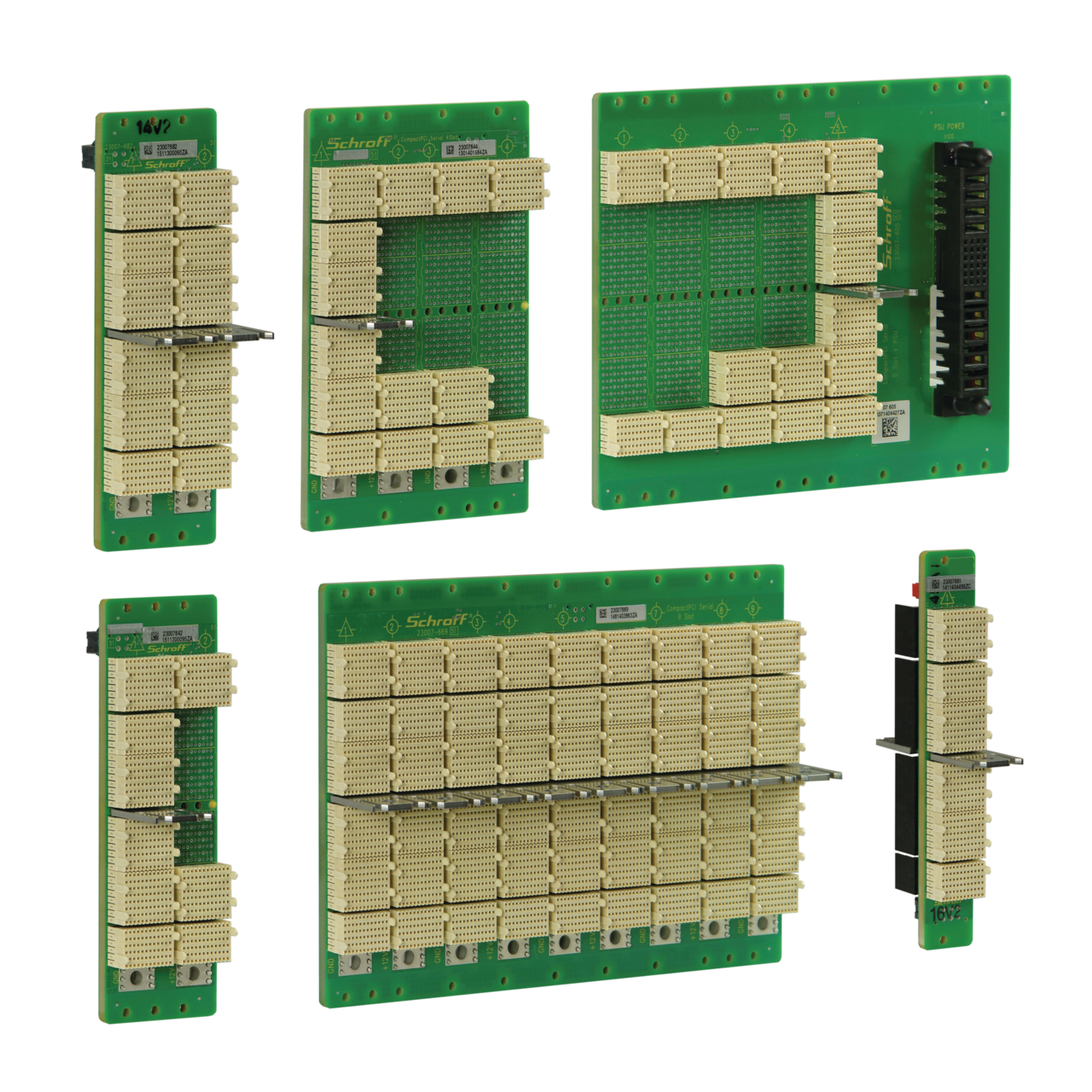 Image for CompactPCI Serial backplanes from Schroff | Europe, Middle East, Africa and India