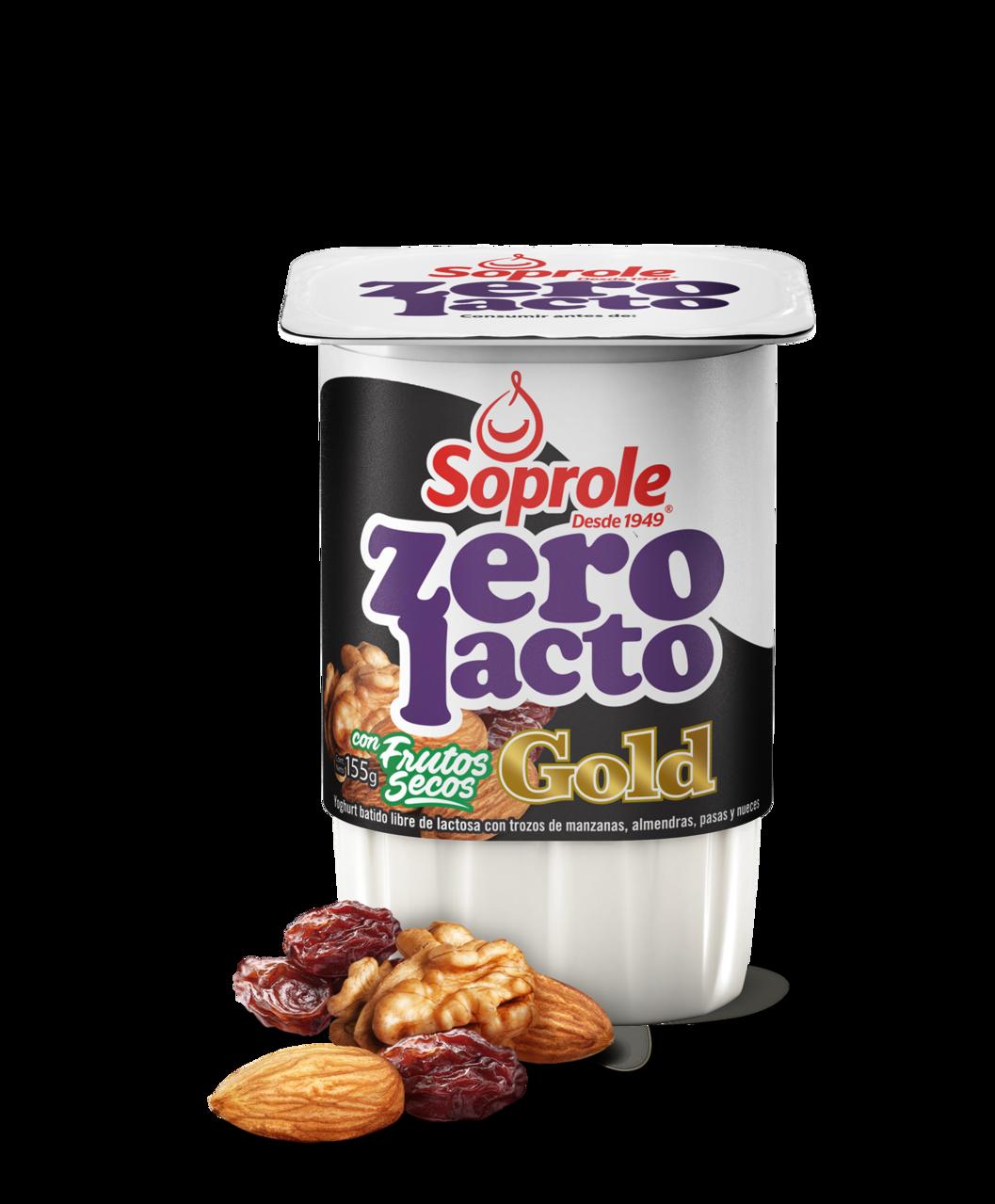 Soprole Zerolacto Gold Yoghurt Frutos Secos