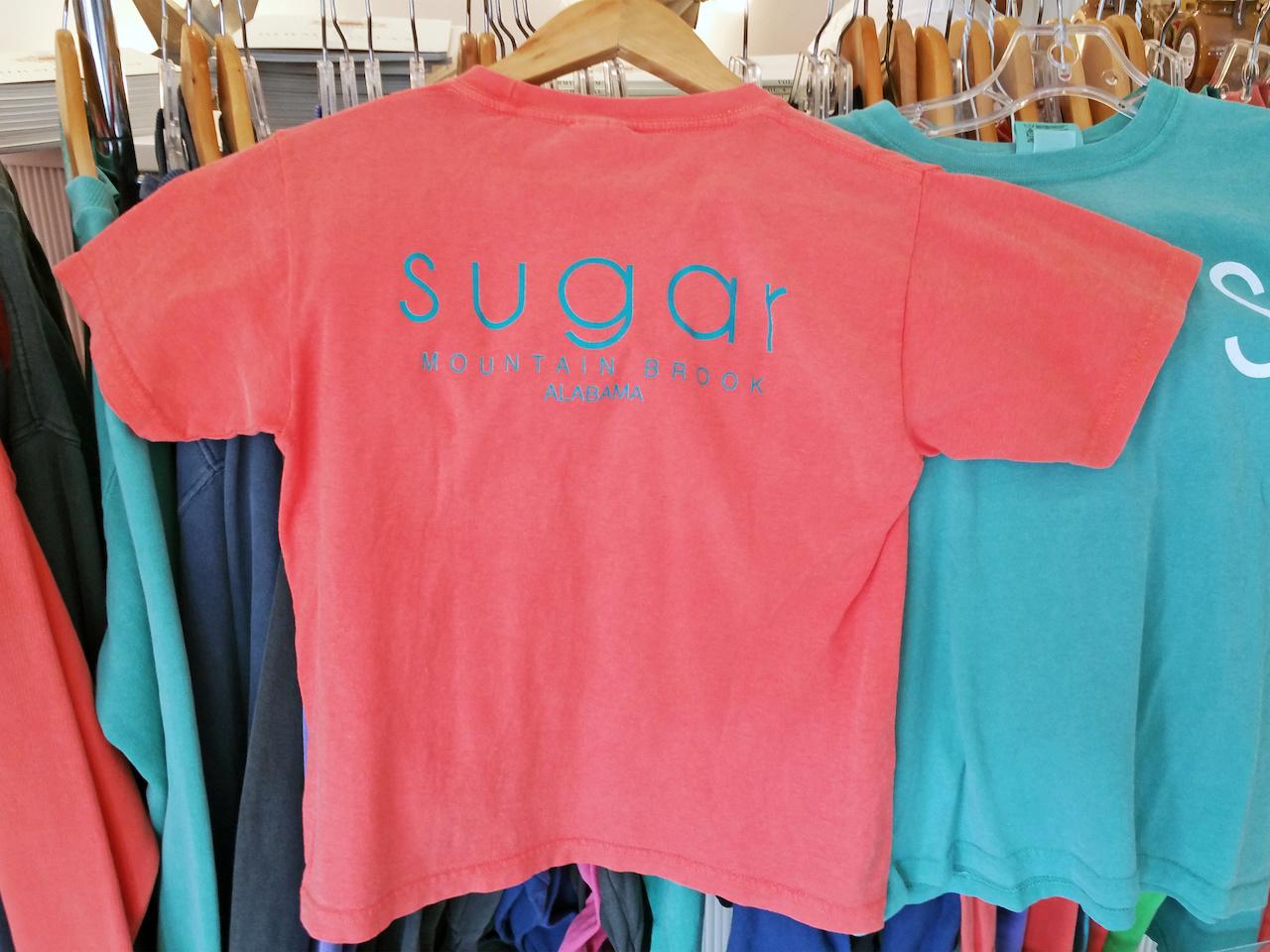 T-shirts, long-sleeved shirts and sweatshirts, starting at $20, at Sugar