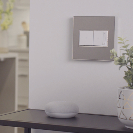 adorne collection with Netatmo smart light switch and dimmer