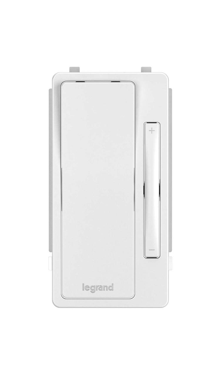 Interchangeable Face Cover for radiant Multi-Location Remote Dimmer, White