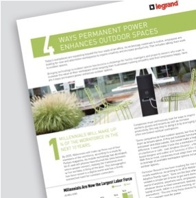 4 Ways Permanent Power Enhances Outdoor Spaces Sheet