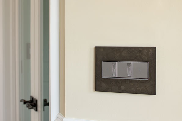 adorne Hubbardton Forge Dark Smoke 3-Gang Wall Plate