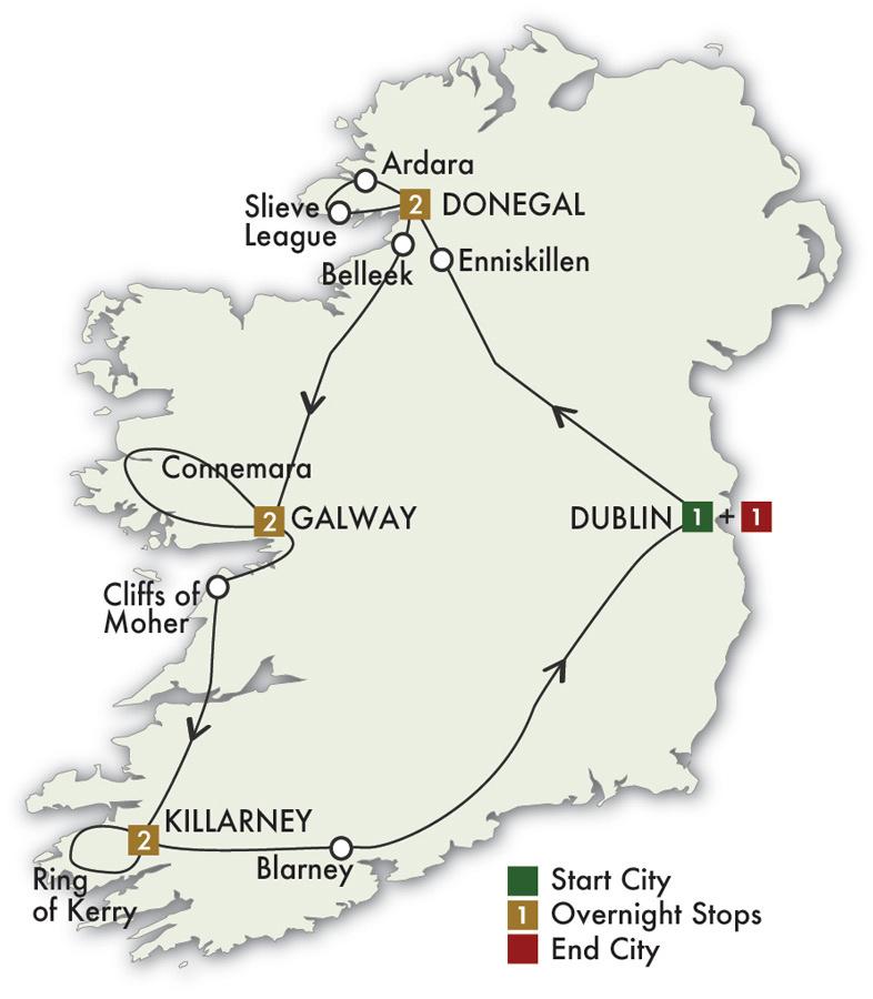 2021 Irish Explorer - 9 Days/8 Nights