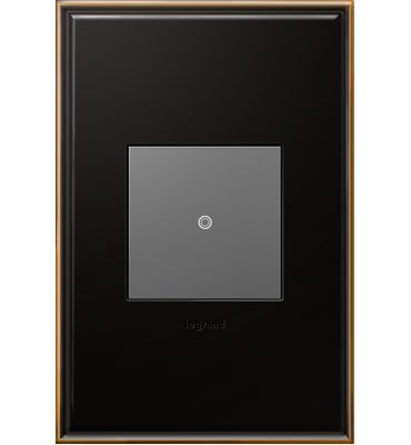 adorne 1-Gang Oil Rubbed Bronze Wall Plate