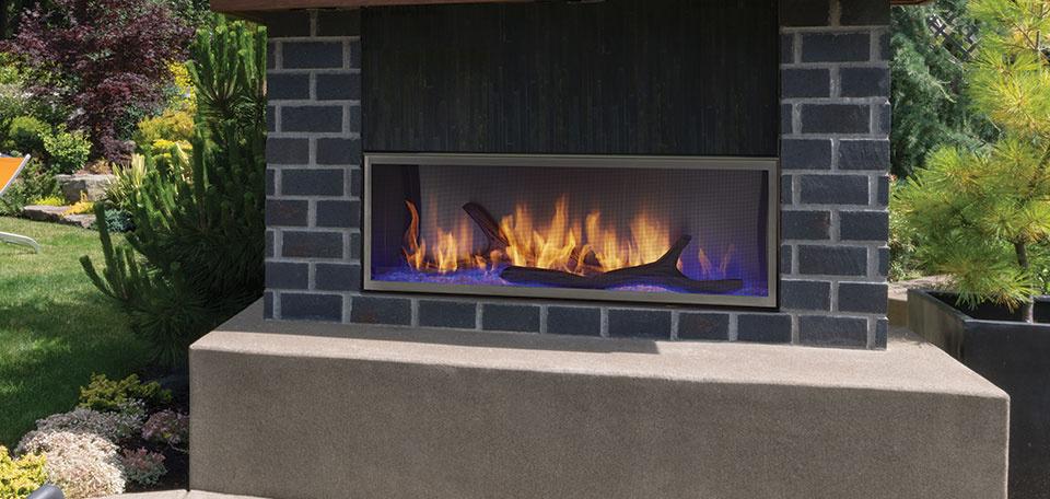 Outdoor Lifestyles Lanai Gas Fireplace