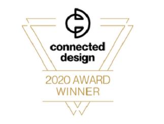 Connected Design 2020 Award Winner