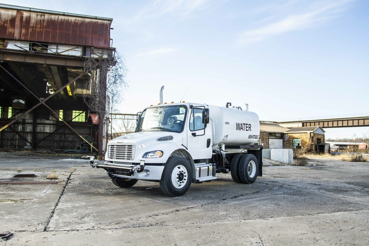 2019 Freightliner M2106 4x2 Load King 2000 Gal Kit Water Truck