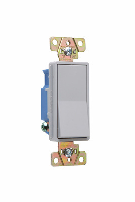 Specification Grade Decorator Switch, 2601GRY