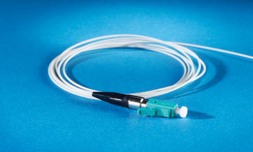 Pigtail, Multimode, 50/125, Single fiber, 900'm, LC-PC, 1 meters, Aqua, Premium Performance, OR-P3PF9FRGZZZ001M