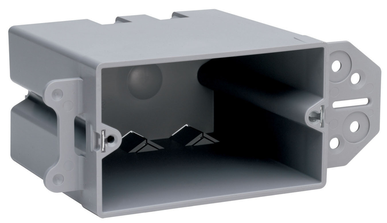 Switch Outlet Box S122r Legrand Nm House Wiring Junction Steel Stud Bracket With Quick Click Sh122b