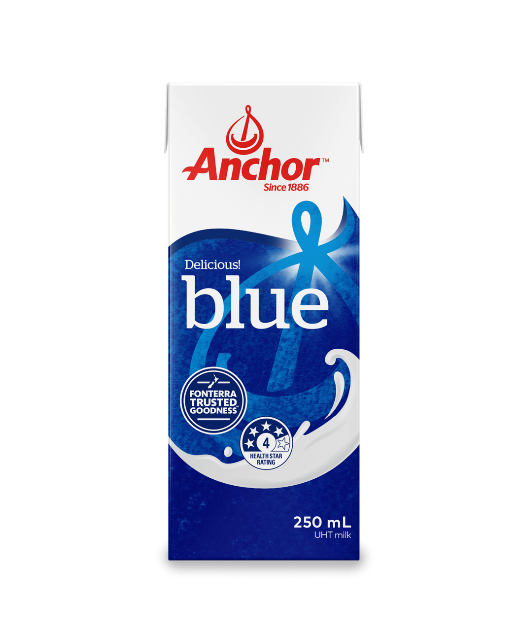 Anchor UHT Blue Top 1L pack