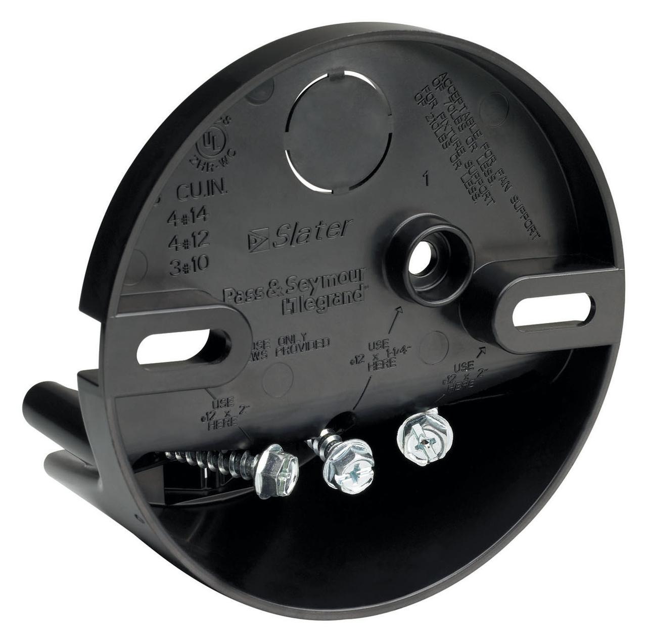4 Inch Round Direct Mount Ceiling Fan Box S109fan Legrand