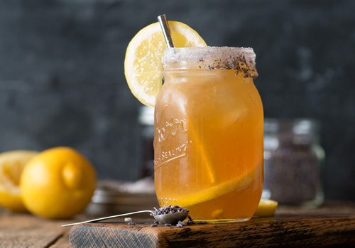 Earl Grey Lavender Cocktail