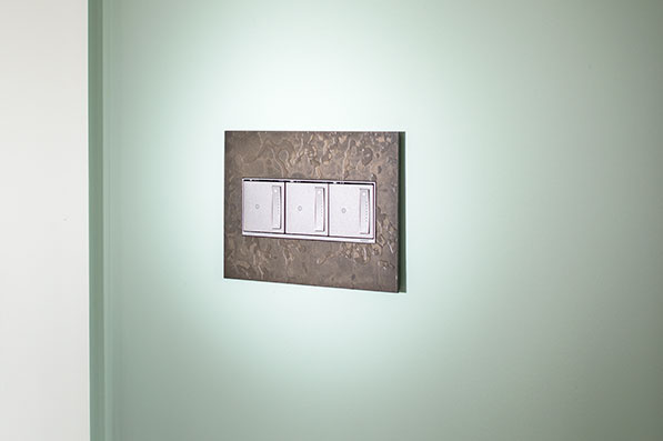 adorne Hubbardton Forge Dark Smoke 3-Gang Wall Plates