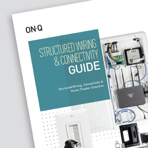 cover of Legrand Structured Wiring and Connectivity Guide