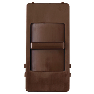 Wide Slide Interchangeable Face Cover, Brown