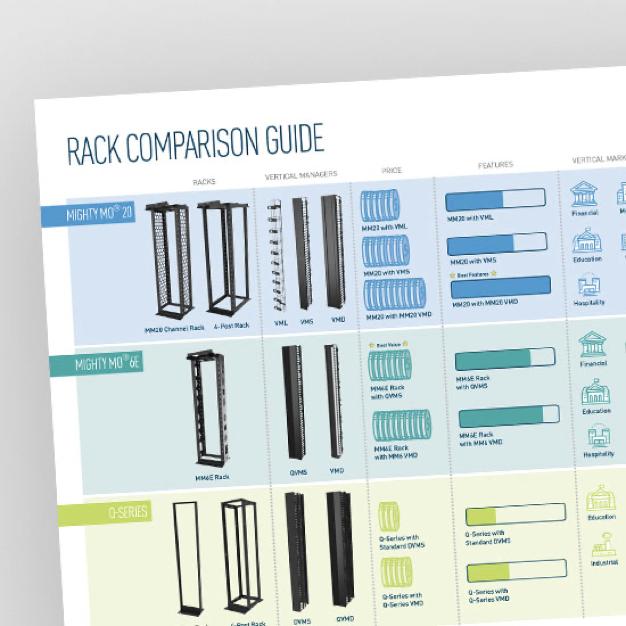 Rack Comparison Guide from Legrand