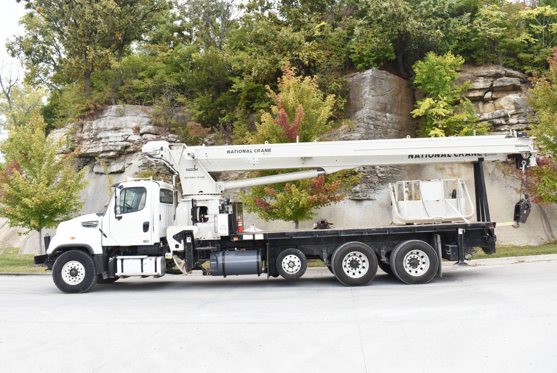 2012 Freightliner 114SD 8x4 National NC14127H Boom Truck