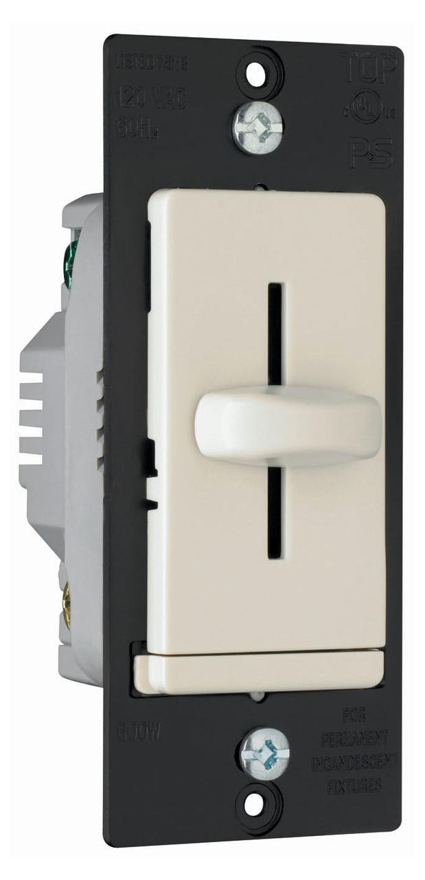 LS Series Incandescent Slide Dimmer, LS600LA