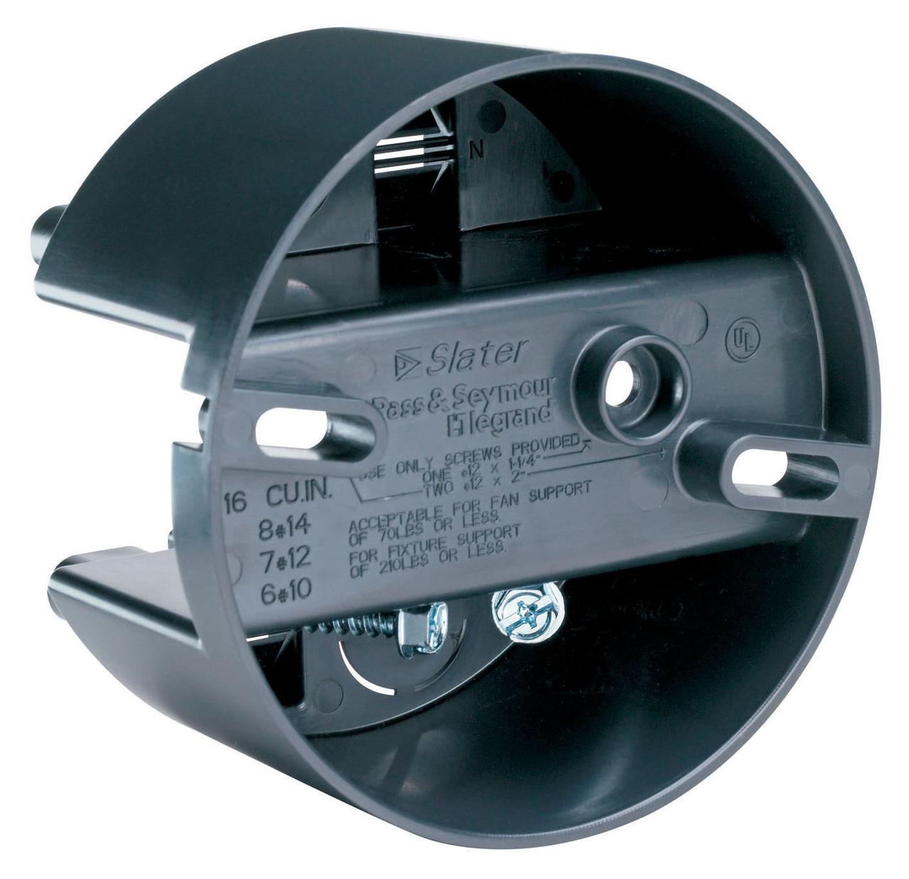 4 Inch Round Direct Mount Ceiling Fan Box S116fan Legrand