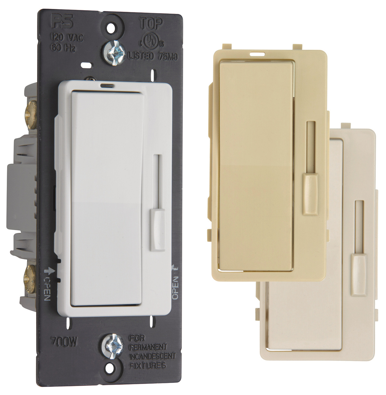 Harmony® Incandescent Single Pole/3-Way Dimmer Switch | H703PTC | Legrand