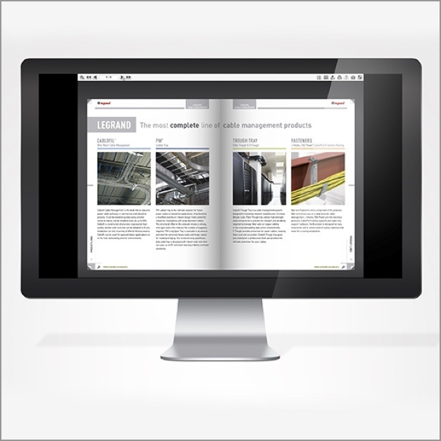 Desktop image of Cablofil Online Catalog