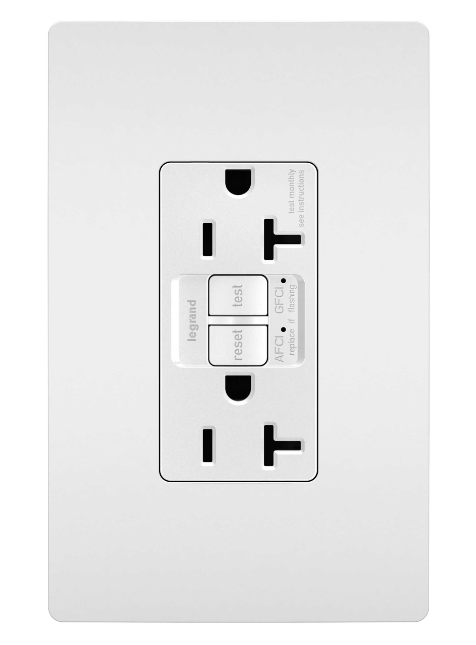 radiant u00ae usb chargers with duplex 15a tamper