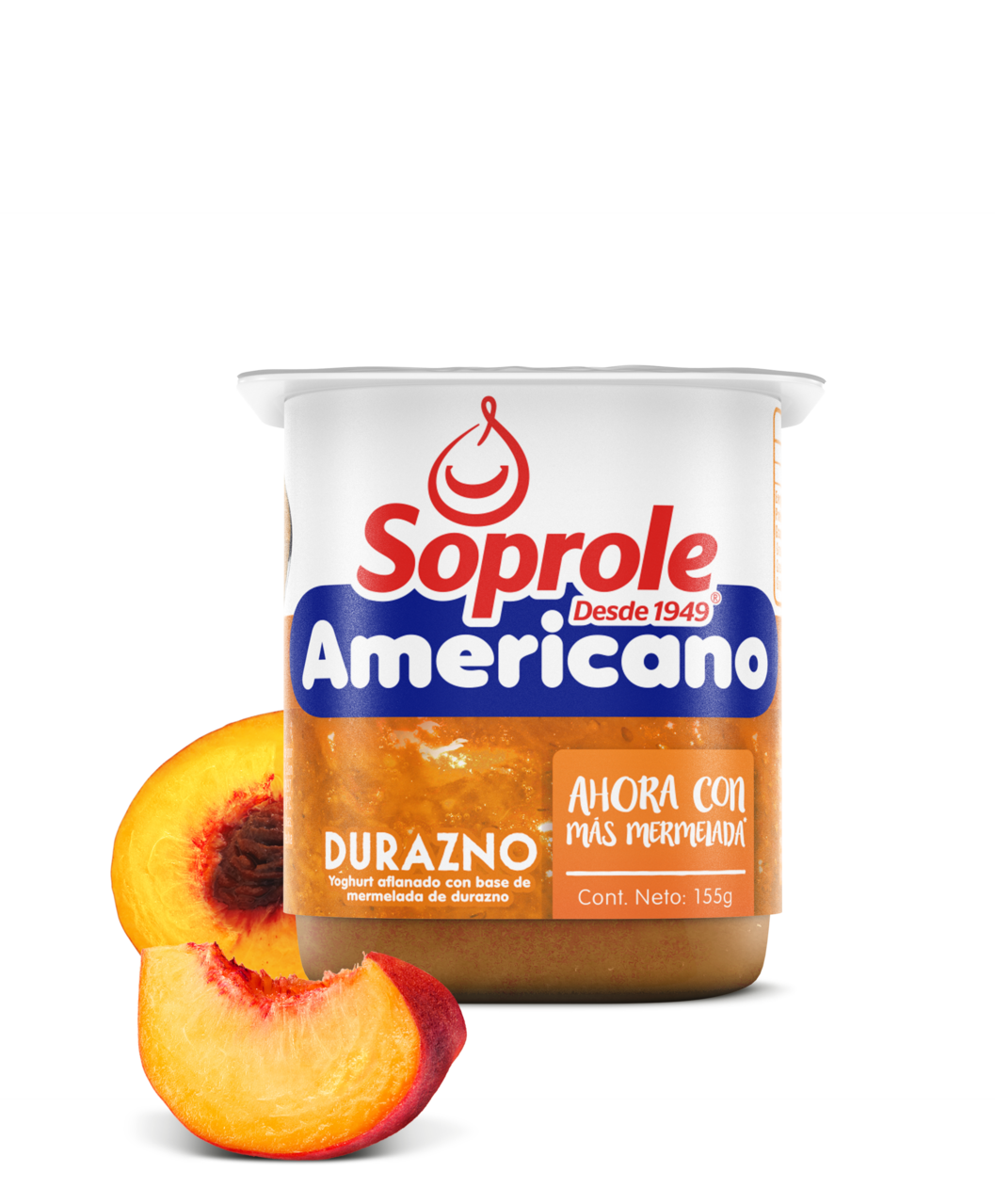 Soprole Yoghurt Batifrut Americano sabor durazno