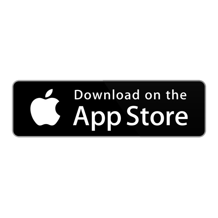 """black box with white Apple logo and text saying """"Download on the App Store"""""""