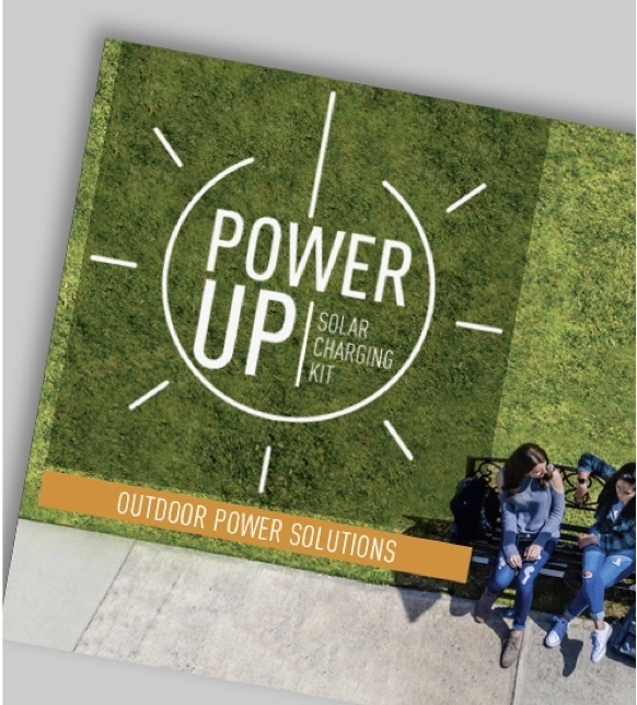 Mobile Image of Power Up Solar Charging Kit Outdoor Power Solutions brochure